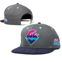 Wholesale Cheap Cadet Hats - Wholesale-2015 new 1 pcs pink dolphin baseball strapback hats and caps for men adjustable cotton cadet summer sun hat flat brim cap cheap