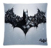 origin throw pillows - DIY Batman Arkham Origins Video Theme Cushion Pillow Cover x18 inch Two Size Bedding Sets Throw Pillowcase