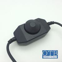 Wholesale Dimmer Switches For Led - 12V LED Dimmer Controller Brightness Adjust Switch 1Channel Dimmer for 3528 5050 5630 Single Color LED Strip Light
