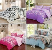 Wholesale Selling Hand Cleaner - 2016 hot sell high quality Material cotton 3 4 pcs bedding set bed Sheet Quilt Duvet Covers PillowCase Bedclothes Bed Linen