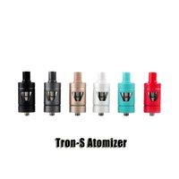 Wholesale Mini Liquid Atomizer - 100% Original Joyetech Tron-S Atomizer 4.0ml Liquid Side View Airflow Control tank for eVic VTC Mini Kits