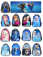 Wholesale Cheap Backpack Handbags - 13 Styles Frozen Elsa Anna School bags kids backpacks bags Cartoon bag houlder Bags Cheap Handbags For Kids