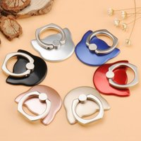 Wholesale Ring Force - Creative Phone Ring Holder Cartoon Cat Head Cell Phone Stand High Adhesive Force Good Quality Figure Ring Car bracket