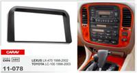 Wholesale Dash Installation Kit - CARAV 11-078 Top Quality Radio Fascia for LEXUS LX-470  TOYOTA LC-100 Stereo Fascia Dash CD Trim Installation Kit