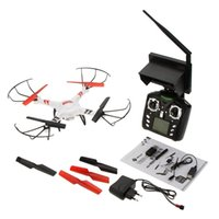 Wholesale Monitor Hd Fpv - WLtoys V686 5.8G FPV Monitor RC Drone Quadcopter With 2MP HD Camera-White
