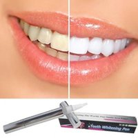 Wholesale Tooth Staining Teeth - 151204 Free shipping Teeth Whitening Pen Tooth Gel Whitener Bleach Stain Eraser Remover Instant