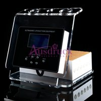 Wholesale Free Desktop Radio - EU Tax free Desktop Ultrasonic Liposuction 3-1 Cavitation RF Radio Frequency Equipment Slim machine