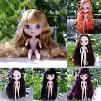 Wholesale Bjd Dolls Shoes - Wholesale- Nude Blyth Dolls DIY Collection No Colothes No Shoes BJD Toy For Girls