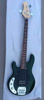 Wholesale Ernie Bass - New Arrival HOT SALE ernie Hot sale Way 4 strings electric bass ball green in left handed 150710