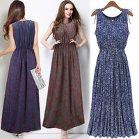 Wholesale Maternity Maxi Dresses For Summer - Summer Style Bohemian Retro Floral Slim Maternity Maxi Long Dress Europe Station Style Women Clothes for Pregnant Vestidos