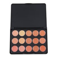 Vendita all'ingrosso - Hot! Mini scatola 15 Colour Common Shades Cosmetici professionali Facial Concealer Camouflage Palette Natura Cura permanente Skin Makeup Set