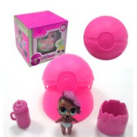 Wholesale Statue Action Figure - Wholesale LOL Surprise Doll Lets Be Friends Series Blind Mystery Ball Funny Eggs Kids Xmas Toys Action Figures Doll with Retail Box
