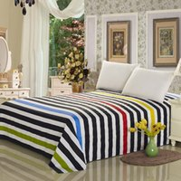 Wholesale Cheap Flat Cotton Sheets - Bed Sheet 100% cotton 1PC Bedding Set bed linen Full Queen King size, best cheap new design flat sheet,bed sheet free shipping!