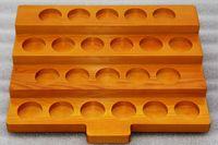 деревянные стенды для показа оптовых-3 стили деревянный дисплей витрина стенды деревянные полки случае стойки для 30 мл E-сок бутылки электронной жидкости распылитель 510 810 капельного наконечника мундштук танк DHL