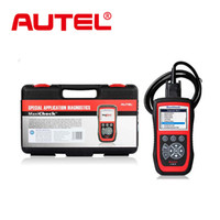 Wholesale Airbag Service Tool - Wholesale-2015 New Arrival Autel MaxiCheck Pro EPB ABS SRS TPMS DPF Oil Service Airbag Rest tool Diagnostic Function free online update