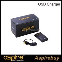 Wholesale Cf Usb - Genuine Aspire eGo USB Charger DC 4.2V 420MAH 1000MAH For Aspire CF Maxx Battery Charging For All Aspire eGo Battery Free Shipping