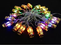 Wholesale chiristmas decoration - Mouderling string lights led rgb chiristmas lights holiday wedding party festival decoration led lantern lights 110v 220v string lightings