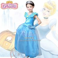Wholesale Dress Children Fat - Free shipping 2016 new flower girl dress and Children's dresses children dress Cinderella dress a generation of fat children dress prin