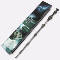 Wholesale harry potter dumbledore wand - Free shipping Best sell Wholesale magic wand 35cm harry potter the elder wand Dumbledore scripture Edition Non-luminous wand