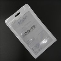 Wholesale S4 Pouch Retail - Retail Package Pouch OPP Poly Plastic Dustproof Bag Pocket 18.5x11.5CM Large Size for Samsung Galaxy S3 S4 iphone Leather Case Cover