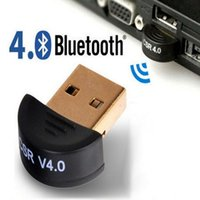 Wholesale Mini Usb Dongle Bluetooth Adapter - Bluetooth 4.0 Dongles Mini USB Bluetooth Dongle Adapters Dual Mode adapter CSR4.0 for Computer Laptop PC
