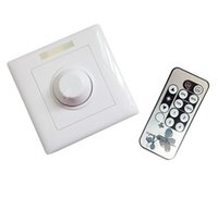 Wholesale Design Dimmer Led - 1Pcs High Quality AC 90V-240V Triac LED Dimmer With Remote Control Specially Designed For LED Lighting