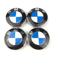 Wholesale Bmw Wheels - 68Mm Aftermarket Wheel Center Caps Hubcaps With High Quality And Bright Colors For Bmw