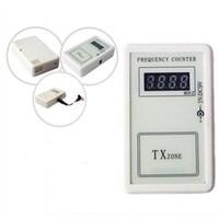 códigos de clave de coche gratis al por mayor-ALKcar 1pc 250-450MHZ contador de frecuencia inalámbrico Código remoto del coche Contador de frecuencia clave remoto Probador de frecuencia Envío Gratis