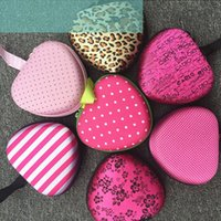 Wholesale Heart Foldable Bag - Invisible Bra Storage Bag Thickened Resuable Heart Shaped Bags Easy To Carry Foldable Eco Friendly Pouch Popular 7nd B