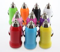 Wholesale Mini Chargers For I Phones - 2000pcs 5V 1A Mini usb Car Charger for iPhone 3G 3GS 4 4S 5 Samsung Galaxy S3 S4 i Cell Mobile Phone Charger Adapter