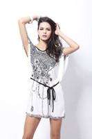 Wholesale Agent Taobao - B30 Taobao agent supply new silk skirt Korean bat sleeve size MM fat milk silk dress