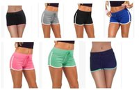 Wholesale Yoga Pants Free Shipping - Fashion Summer Sports Women Shorts Leisure Elastic Waist Women Shorts Female Casual Yoga Short Running Shorts Fast shipping