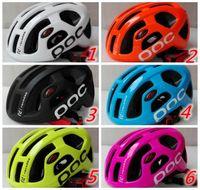 Wholesale Bike Helmet Sizing - Hot sale poc Octal Raceday Road Helmet Cycling Men's Women's Eps Ultralight Mtb Mountain Bike Comfort Safety Cycle Bicycle Size M 54-61cm