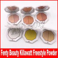Wholesale Palette Metal - Fenty Beauty By Rihanna Killawatt Freestyle Highlighter Palette 6 Colors TROPHY WIFE Metal Moon LIGHTNING DUST FIRE CRYSTAL DHL