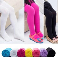 Wholesale Leggings Candy - Children Leggings Tights Skinny Pants Child Clothing Fashion Candy Color Leggings Long Trousers Kids Casual Pants Girls Tights 14 color