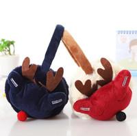 çocuklar kış kulak muffs toptan satış-Moda Çocuk Kız Kış Kulak Muffs Noel dekorasyon Kızlar Earmuffs Boys Için Kulak Muffs Çocuk Kulak Muffs Karikatür hediye