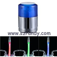 Wholesale Light Sensitive Water Tap - water power Hot sale Free Shipping New LED faucet light color temperature sensitive faucet light Three-color mini-Tap