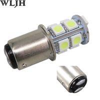 Wholesale p21 5w for sale - WLJH LED BAY15D P21 W Backup Reverse Turn Signal Brake Tail Light V Side Marker