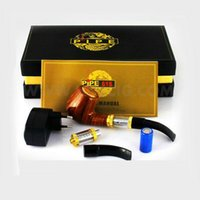 E-pipe Pipe 618 cigarette électronique de cigarette d'e cig Ensemble de Séries de fumer la pipe style de cigarette électronique tuyau de 2,5 ML Clearomizer ego starter kit