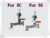 Wholesale Original For IPhone G C S Proximity Light Sensor With Front Camera Assembly Flex Cable Ribbon Cam Mic Microphone Flaxy