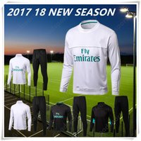 Wholesale Men S Fashion Outfits - 2018 Tranning KITS outfits Tracksuits T shirt 18 Real Madrid Home Away 3rd Soccer Jerseys 17 18 Ronaldo ASENSIO Football HOT FASHION