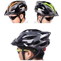 Gros-21 évents Ultralight Sports Cyclisme Casque avec doublure Pad Mountain Bike Safety Bicycle Cycle Riding Equipment Accessoire Adulte