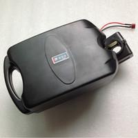 frosch batterie lithium großhandel-48V 12AH für Froschfall Lithium-Batterie für elektrisches Fahrrad ebike Li-Ionbatterie mit BMS und Ladegerät geben Verschiffen frei
