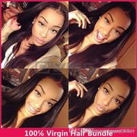 Wholesale Goddess Human Hair - best weave 3bundle goddess remy human hair unprocessed virgin hair bundle deals peruvian straight virgin hair puruvian hair 3,4,5pcs lot