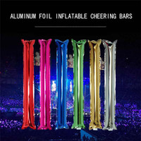 Long Balloons Foil Balloons 60*10cm Inflatable Stick Birthday Party Sports Games Accessory Celebrate Balloons Factory Wholesale
