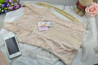 Wholesale Tummy Control Underbust Tops - Women Underbust Tummy Control Body Shaper Slimming Top Shapewear Bodysuit Lady Corset Free Shipping