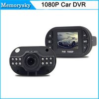 Wholesale Car Dashboard Cams - Full HD 1080P Car DVR Digital Camera Video Recorder G-sensor Carro Coche Dash Cam Dashboard Dashcam Camcorders 111181C