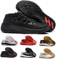 Wholesale China Sneakers - Best Basketball Shoes Sneakers D Lillard 4 Dame 4s Rip City White Un-Dyed Signature Men Man Light Sports China Brand Tennis Trainers Shoe