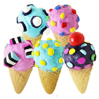 Wholesale Latex Dog Toys Wholesale - Dog cat pets toys teeth teeth chewing latex ice cream pet toys mixed color dog toys