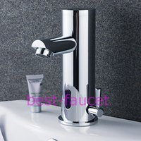 Wholesale Thermostatic Automatic Faucets - Water Saving Automatic Infared Sensor Bathroom Sink Bar Basin Faucet Mixer Tap